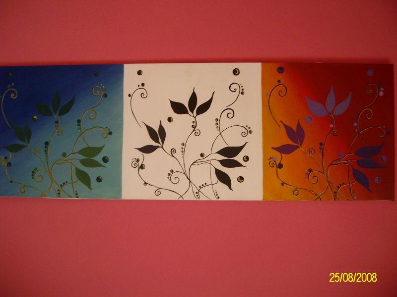 fiori stilizzati - Opera d\'arte di Afrodite