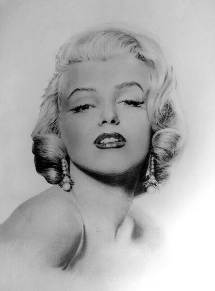 Marilyn Monroe - Opera d\'arte di Alessandro Failla