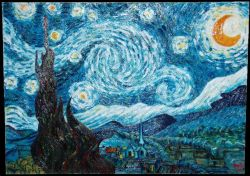 Vincent Van Gogh, Notte stellata (The Starry Night)_2006