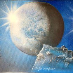 Castello al chiaro di luna (particolare )