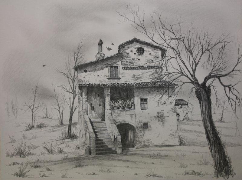 Molto Paesaggio toscano - Opera d'arte di Angelo Latini YK63