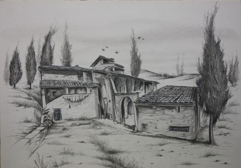 Nice Paesaggi Da Disegnare A Matita Ms95 Pineglen