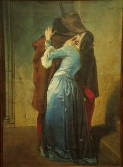 il BACIO (Francisco Hayez) copia