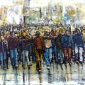solidarity of the peoples, 2011, No. 2503 - sold, location Taranto city (Italy)