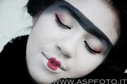 Is she a geisha or what?