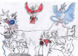 Pokemon Leggendari Opera D Arte Di Bart