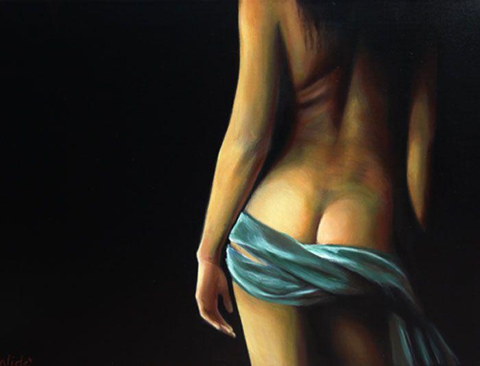 nudo - Opera d\'arte di Calidè