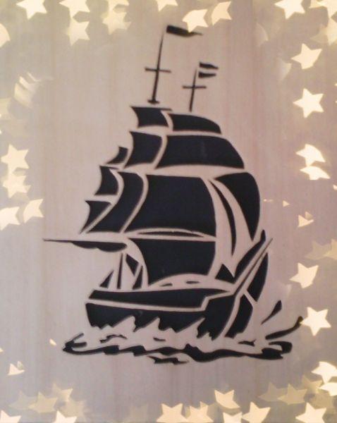 abbastanza Quadro Barca a Vela - Opera d'arte di Cumia Danilo IG21