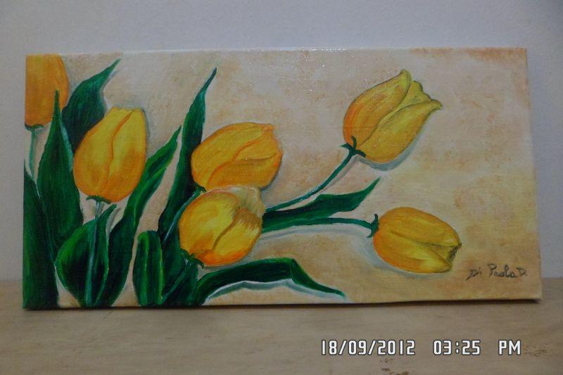 tulipani - Opera d\'arte di Daniela Di Paola