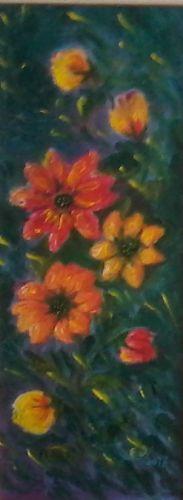 fiori rossi e gialli