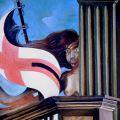 San Giorgio e il drago 1983 (particolare)