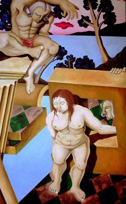 Susanna e i vecchioni (omaggio a Paolo Veronese) 1983
