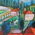 Villa Da schio verso nord-est