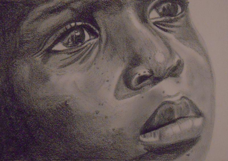 Gli occhi di Haiti - Opera darte di Fabio Boccalon