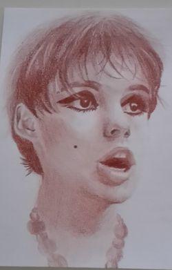 Red Edie Sedgwick