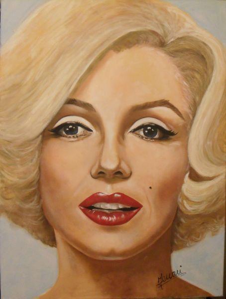 volto di marilyn monroe - Opera d\'arte di Ferrari