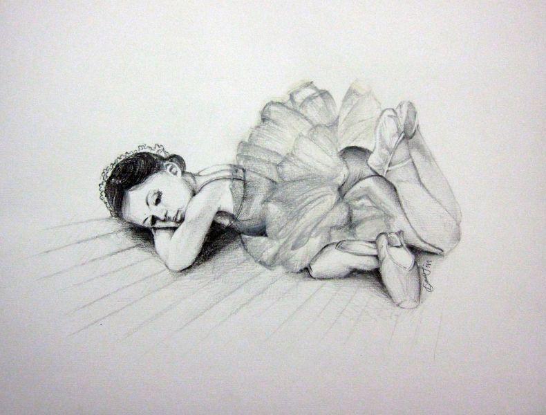 Disegni Di Ballerine Da Disegnare : Disegno studio5copia opera darte di francesca drudi