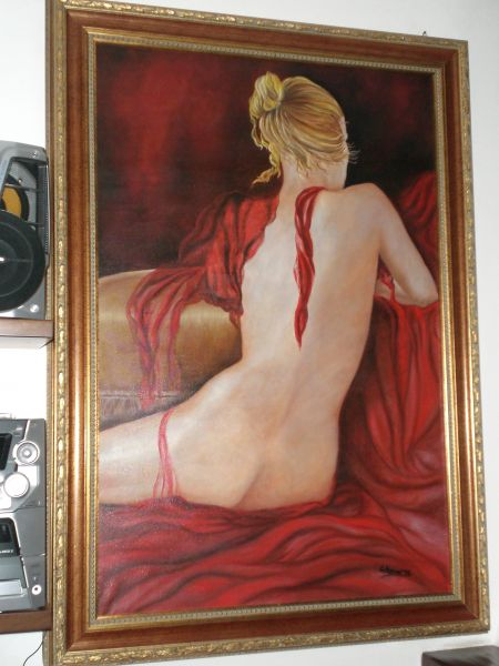 Clara nudo di donna - Opera d\'arte di G.marino