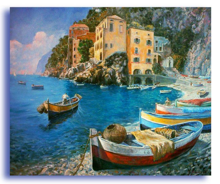 Conca dei marini - Opera d\'arte di Giuseppe Acierno