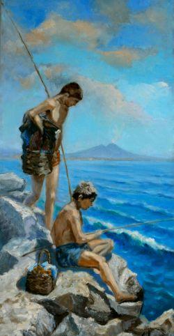 Piccoli pescatori nel Golfo