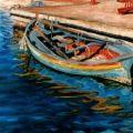 barca nel porto di Cariati