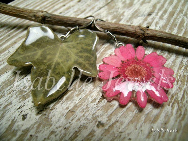 Gioielli artigianali unici con fiori veri naturali for Gioielli design