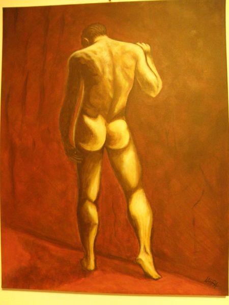 Nudo maschile - Opera d\'arte di Laura