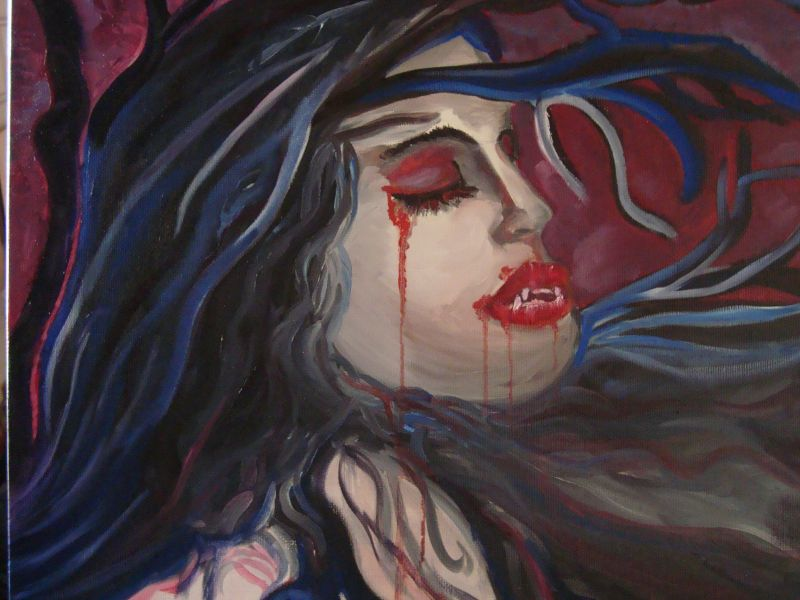 Limeka, Donna vampiro.