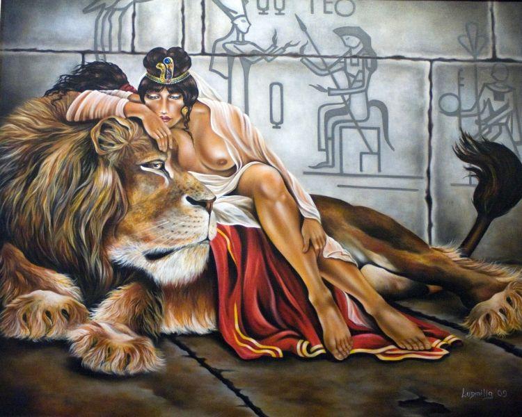 Ben noto Scimmia - Opera d'arte di Ludmilla Filippova YP69