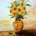 Girasoli in vaso