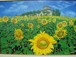 LG 0021 - Campo di girasoli - Toscana