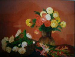 LG 0109 - Dalie, Gladioli e Rose