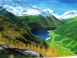 LG 0024 - Il Lago di Ceresole - Piemonte
