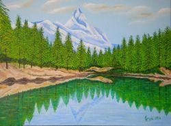 LG 0257 - Il Lago Verde - Valle d'Aosta