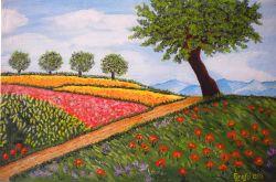LG 0281 - Collina in fiore