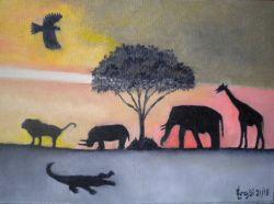 LG 0349 - Animali d'Africa