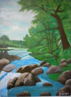 LG 0383 - Il fiume Tirino - Abruzzo