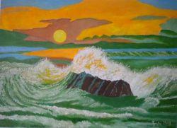 LG 0400 - Maremoto al tramonto