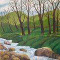LG 0415 - Inverno al torrente Lura