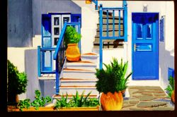Piazza dei Mulini - Mykonos