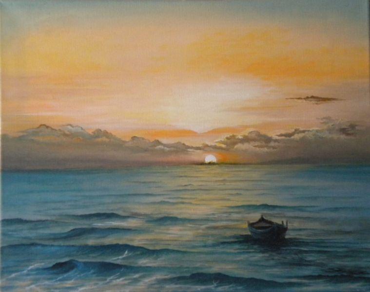 Marco boschetti marco boschetti for Disegno paesaggio marino