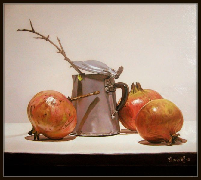 natura morta - Opera d\'arte di Matteo Curcio