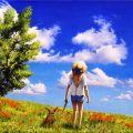 Nuvole sognanti (omaggio a Myazaki)