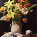 Vaso di fiori finti (Anno 2009)