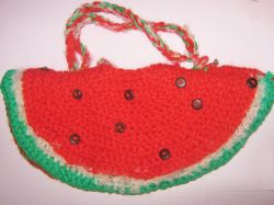 """Watermelon!""Gladys Creations Bag Collection by Monica Bianchini"