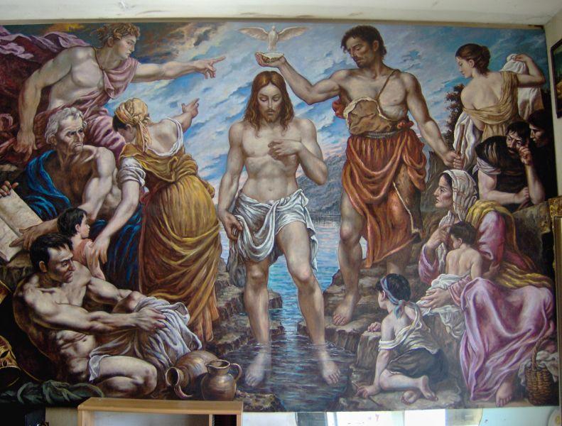 Risultati immagini per battesimo di Gesù