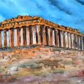 YannisArt (Acropolis Athens..02 Greece) 0il on canvas