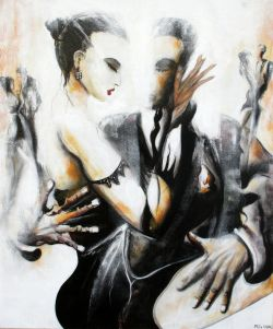 when Tango meets painting