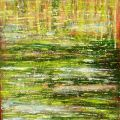 reflections in the lake_40 cm x 50 cm