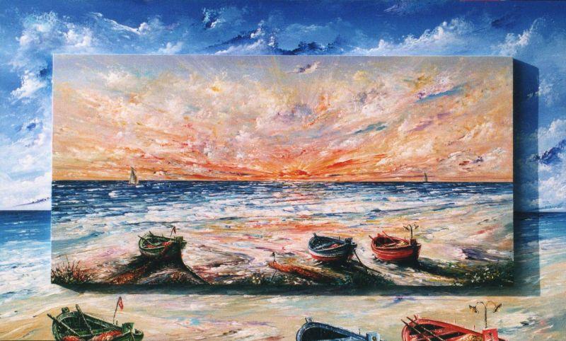 Favoloso il respiro del mare - Opera d'arte di Pietro De Seta EY84